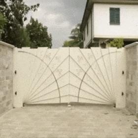 Нарядные ворота