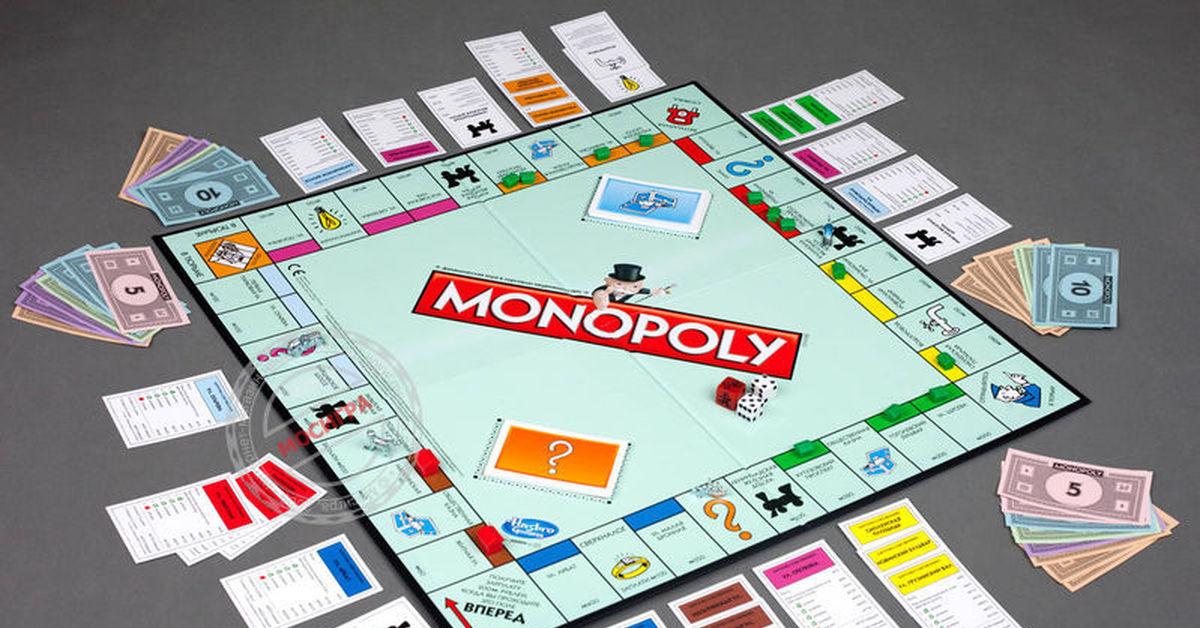Монополия игра в картинках