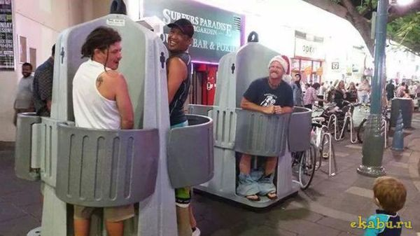 Ну теперь заживем!!! В Москве планируют установить открытые уличные туалеты. Открытый туалет, Европа, Нововведение, Длиннопост