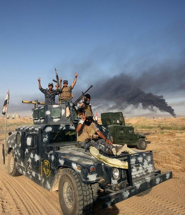 Нет, это не кадр из Mad Max это Ирак