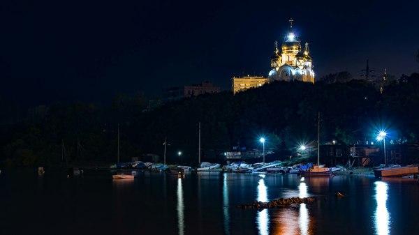 Ночное фото родного города