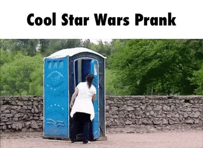 Пранк с туалетом. БМ молчал