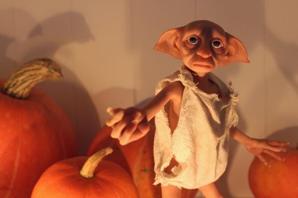 Добби из полимерной глины Добби, Гарри Поттер, ручная работа, авторская кука, игрушка ручной работы, полимерная глина, авторская игрушка, фигурка, длиннопост