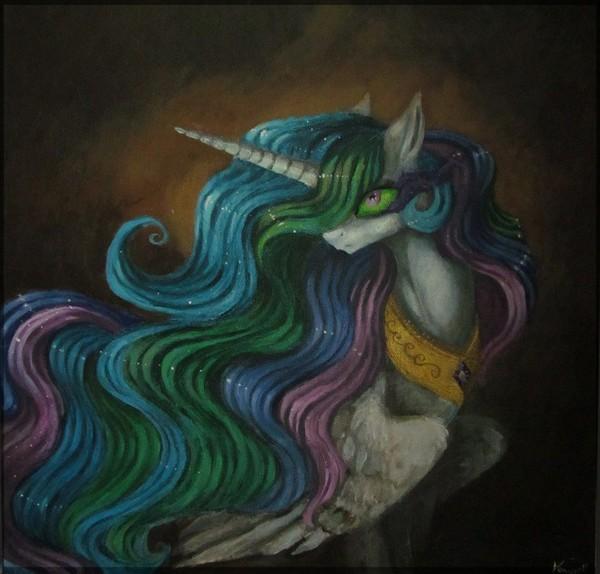 Celestia My little pony, Princess Celestia, Ponyart, Darkpony