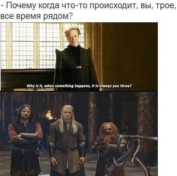 Действительно. Гарри Поттер, Властелин колец