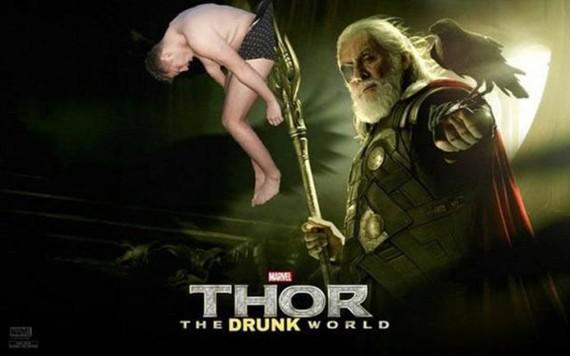 Фотожабы на пьяного парня Фотожаба, Треш, Длиннопост