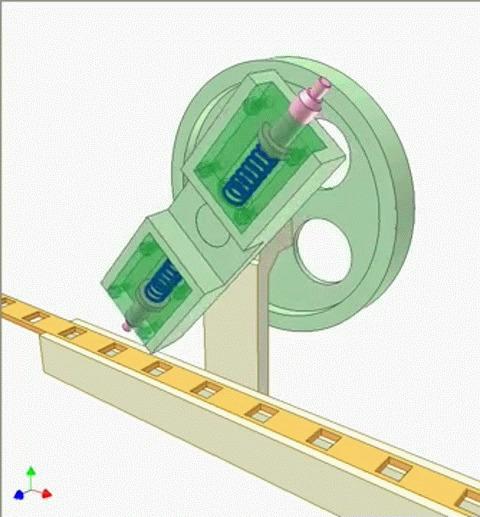 Механизмы. Gif Гифка, Механизм, Gif анимация, Залипалка, Длиннопост