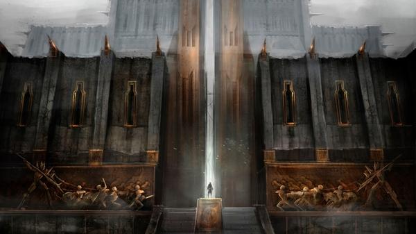 Киркволл - вход в цитадель