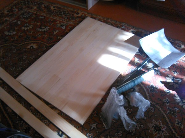 Столик для ноутбука своими руками из... стол, стол для ноутбука, своими руками, подарок, длиннопост