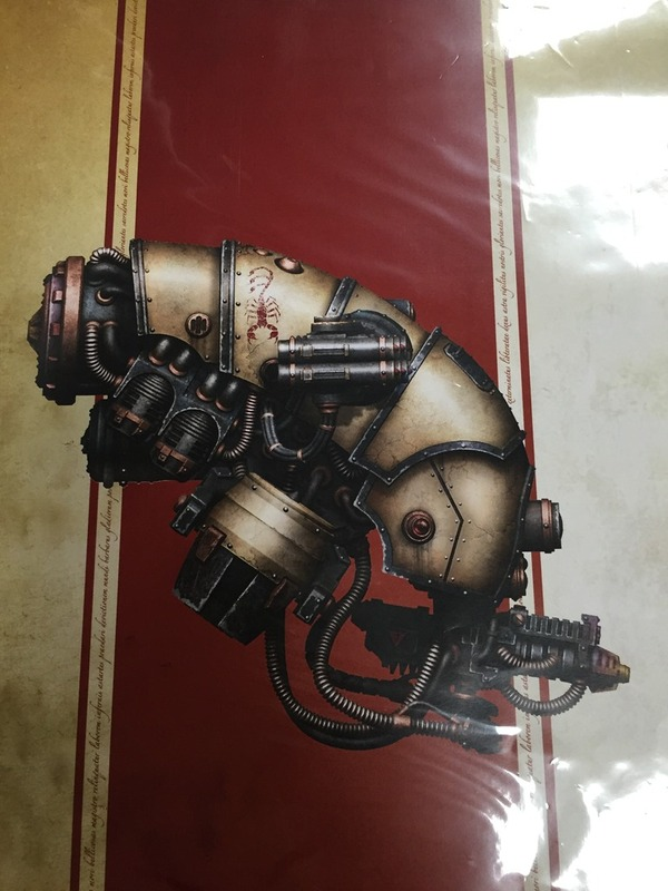 Стратосферный автоматон класса «Вултаракс» Warhammer 30k, Mechanicum, Forgeworld, Warhammer 40k, Длиннопост
