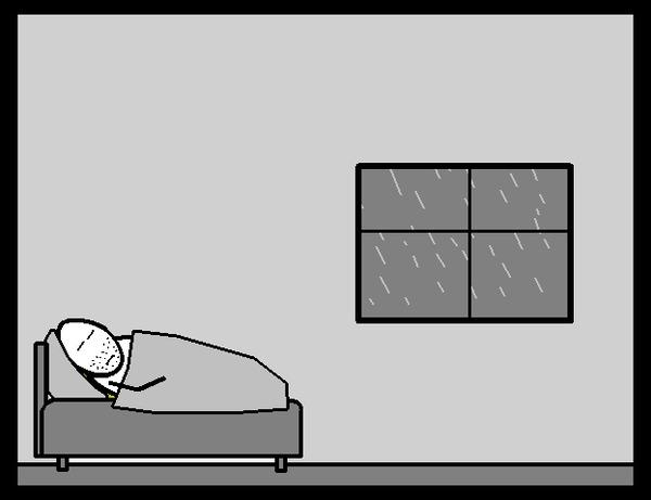 Временное (Анимиронный комикс №18) Анимация, Гифка, Комиксы, CynicMansion