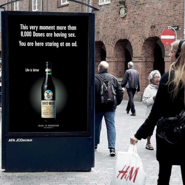 «Жизнь горька» Реклама, Ирония, Бакарди, Ликер, Насмешка, Длиннопост