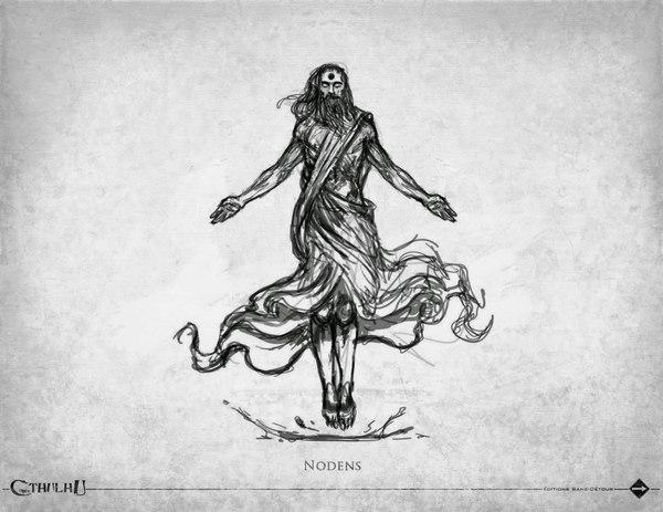 Арт по Лавкрафту Ктулху, Лавкрафт, Бог, арт, длиннопост