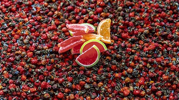 Шиповник и фруктовый мармелад. Смотреть до конца :)