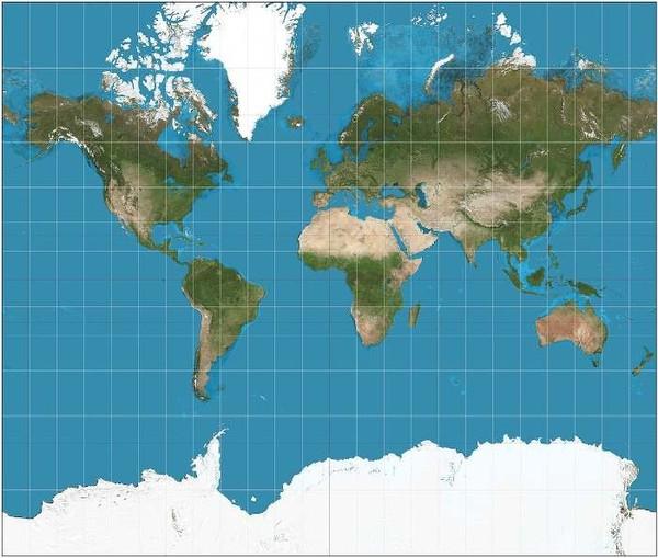 Японцы по-новому построили настоящую карту мира Карта мира, Дизайн, Новый взгляд, Япония, Длиннопост
