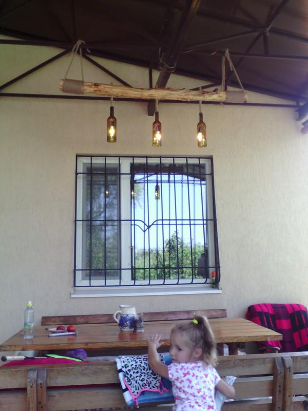 Лампа без кота Ручная работа, Дача, Длиннопост
