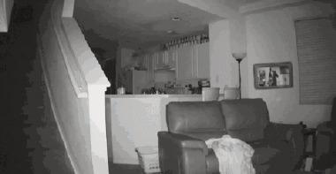 Когда на дом напала нечисть и тебе приходится отбиваться гифка, Adobe After Effects, Дети, спецэффекты, камера