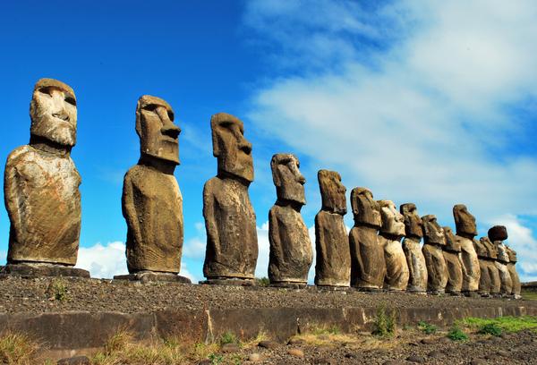 Они пришли Остров Пасхи, Статуя, Видео