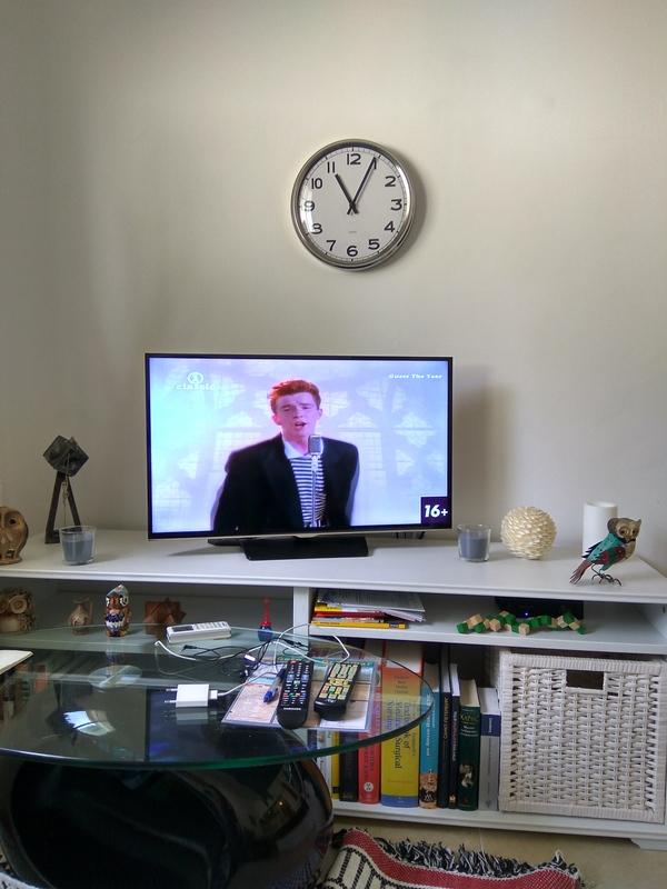 Захотел посмотреть телевизор... Гости, Рикролл, Newer gonna give You up