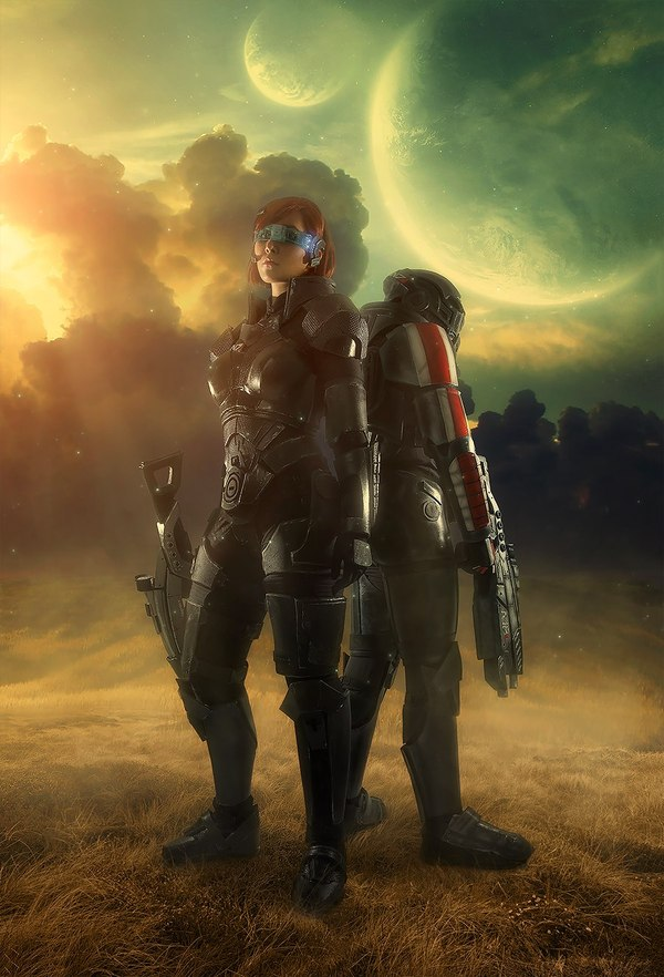К прошедшему дню N7. Тизер фотосета по Mass Effect mass effect, Косплей, shepard, femshep, aku