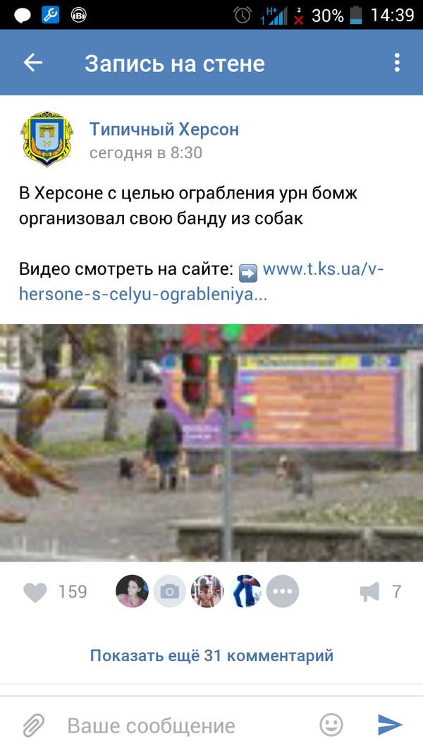 А какие банды в вашом городе))