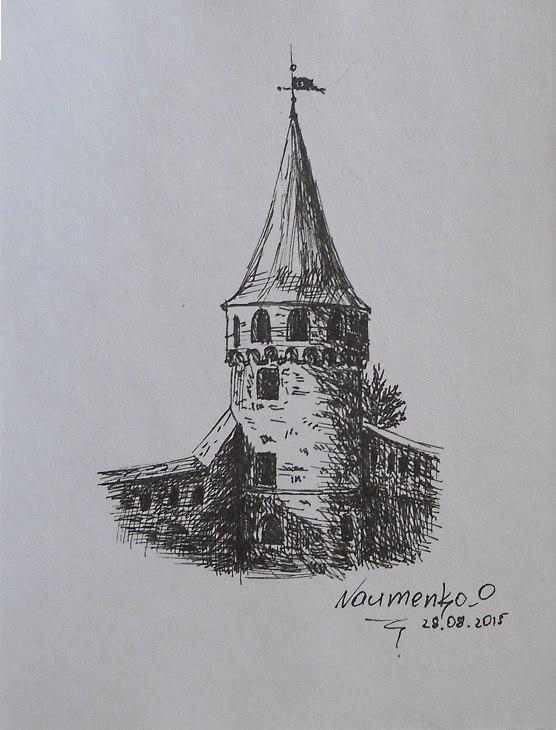 Башня Каменец-Подольской крепости (лайнер)