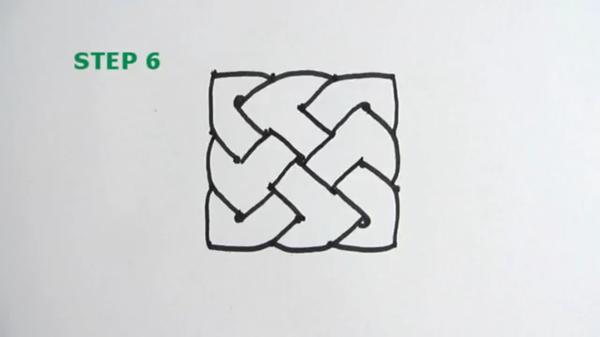 Если вам скучно нарисуйте кельтский узел