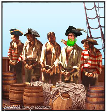 Капитан Синяя Борода Комиксы, jeroom, пираты, Синяя Борода, Капитан Синяя Борода