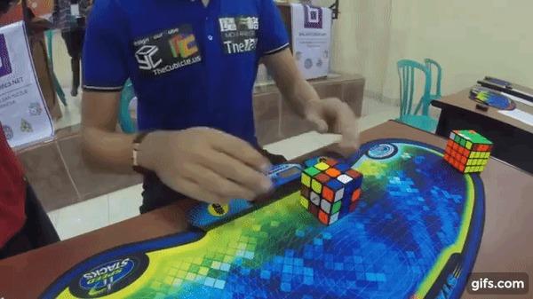 детское термобелье мировой рекорд собирания кубика рубика популярным последние несколько