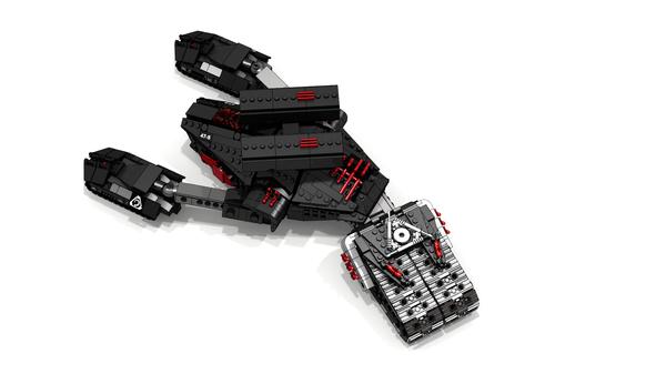 C&C3:Kane Wrath. Продолжаем переносить стратежку в Лего. LDD, Lego digital designer, CNC3, Lego, Длиннопост