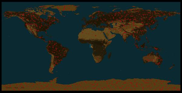 Карта мира для Factorio Factorio, Сценарий, Карта мира