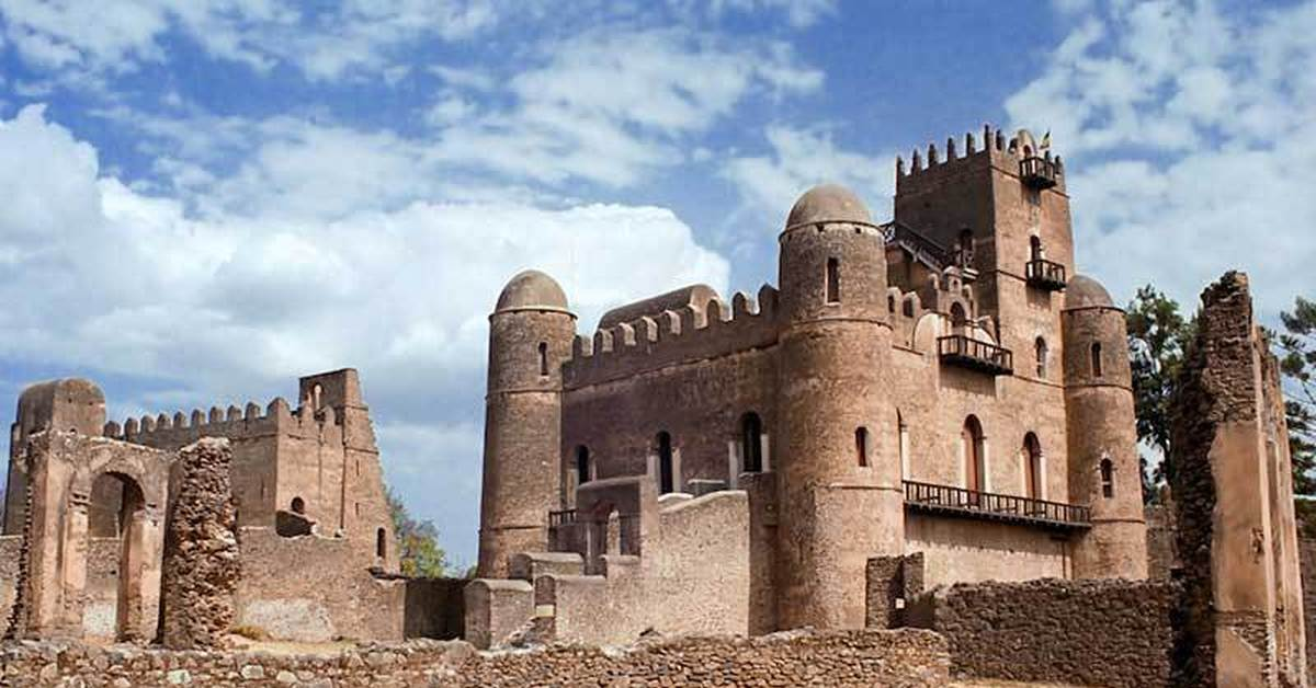 Крепость Фасиль-Гебби расположен в городе Гондэр, Эфиопия
