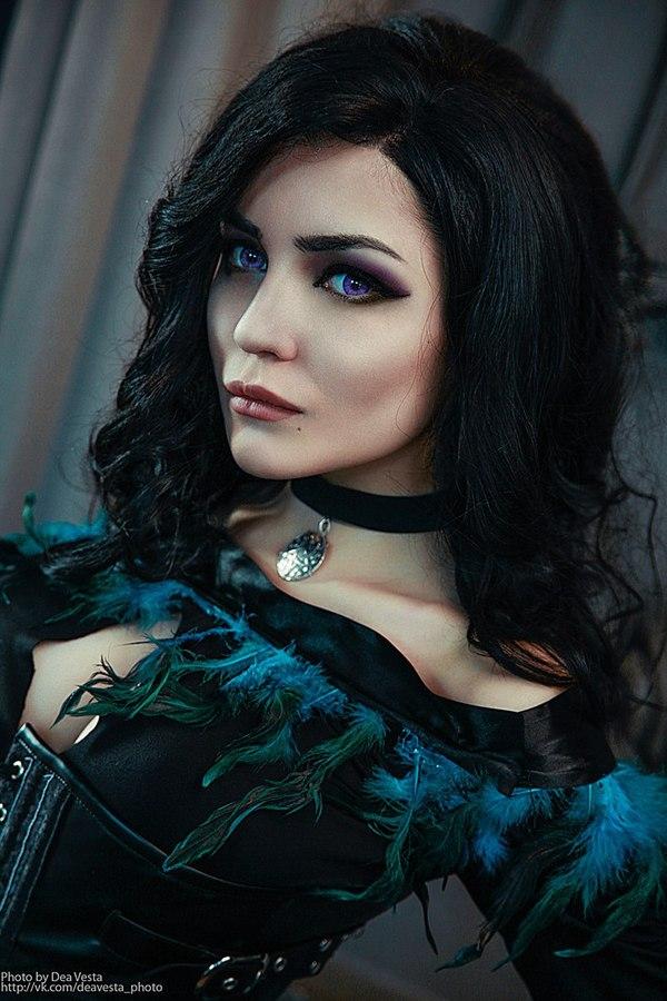 Очень красивая Йеннифер Косплей, Ведьмак 3