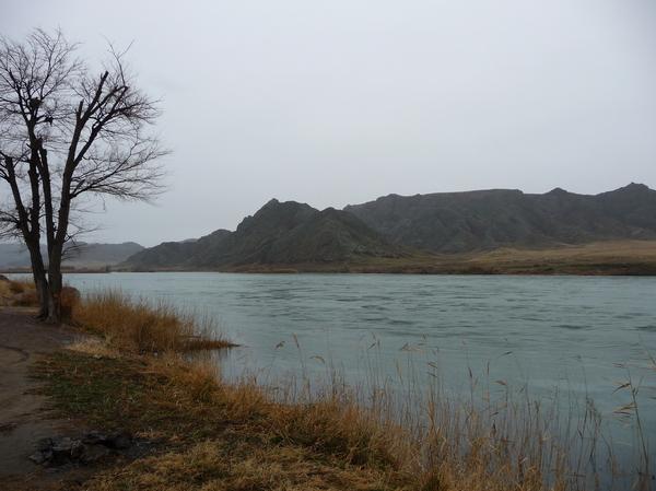 Съездил на рыбалку Рыбалка, Или, Камень из сказок, Он существует, Осень, Длиннопост, Казахстан