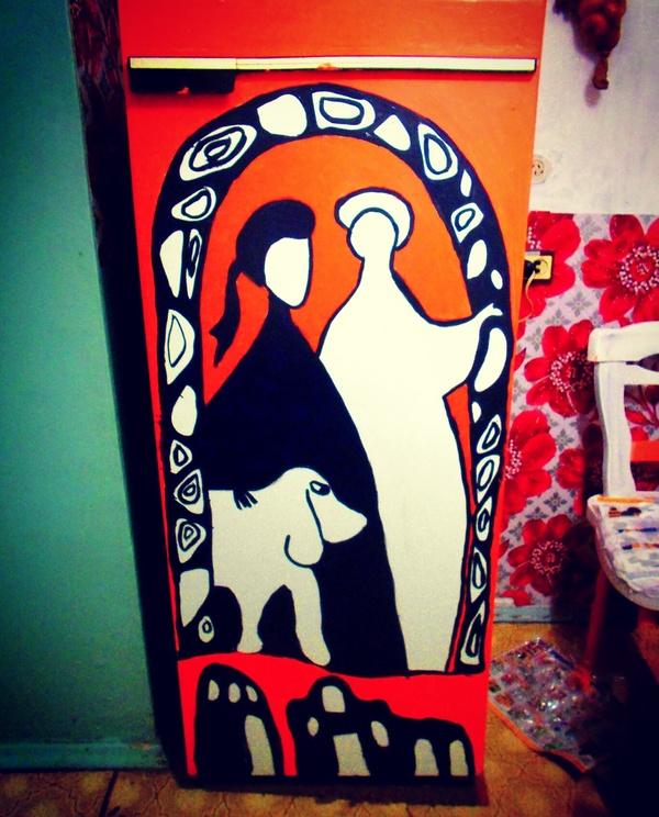 Однажды вечером Макс фрай, Краски, Холодильник
