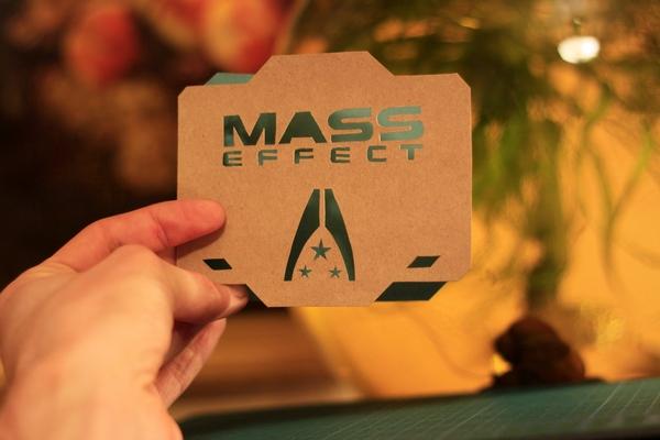 Mass Effect открытки. Ручная работа Mass Effect, Ручная работа, Игра Масс Эффект, Bioware, Гаррус, Цербер, Длиннопост, Ручная работа игры