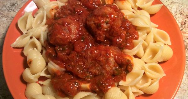 Фрикадельки в томатном соусе длиннопост, рецепт, еда, фрикадельки, кулинария