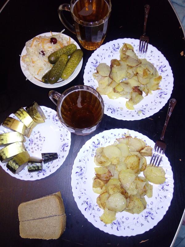 Прекрасный субботний ужин :)