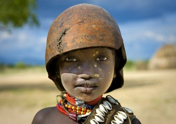 Ребенок из племени Эрбор, Эфиопия