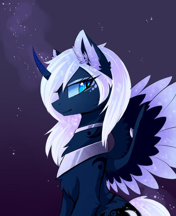 Такая разная Луна и немного Твайлестии My little pony, Princess Celestia, Princess luna, Twilight sparkle, KK, Шиппинг, MLP Edge, Ponyart, Длиннопост