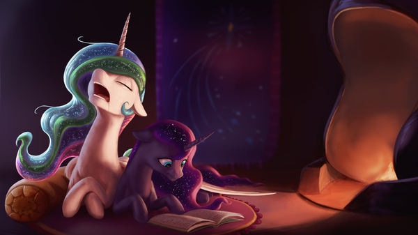 The Things You Didn't Think You'd Miss My little pony, Princess Celestia, KK, Princess luna, Ponyart