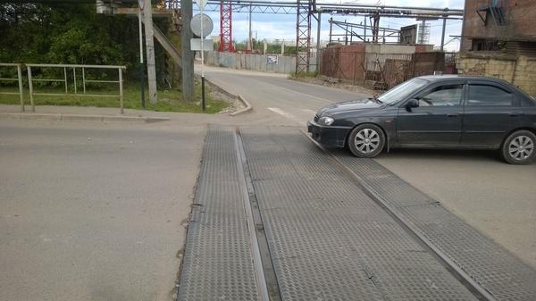 Интересный перекрёсток Краснодар, Трамвайные пути, Моё