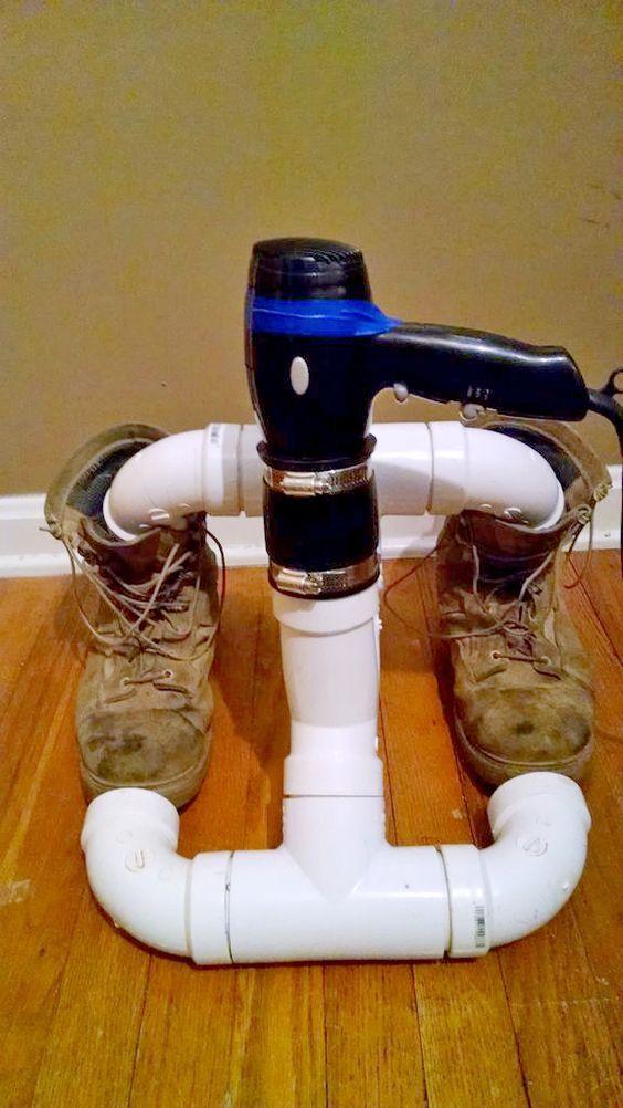 Когда нужно быстро проветрить и подсушить свою обувь