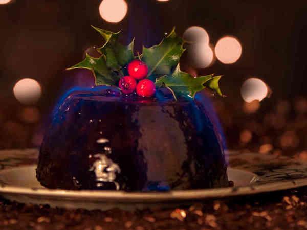 Английский рождественский пудинг Десерт, Рецепт, Рождество, Пудинг, Англия, Длиннопост