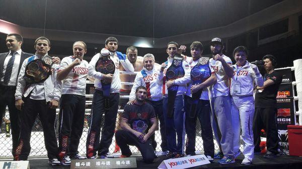 7-0. Сборная России триумфально завершает Чемпионат Мира по ММА 2016