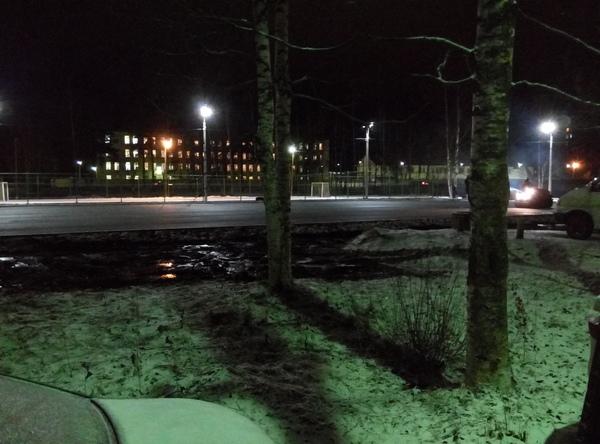 Еще одна история об асфальте Асфальт, Ленинградская область, Зима