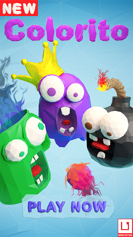 Инди-игра: Colorito. Инди, Игры, Реклама, Просьба, Длиннопост