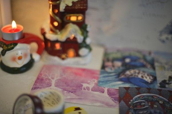 Новодние открытки Новый Год, Открытка, Подарок, Даром, Новогодняя открытка, Длиннопост
