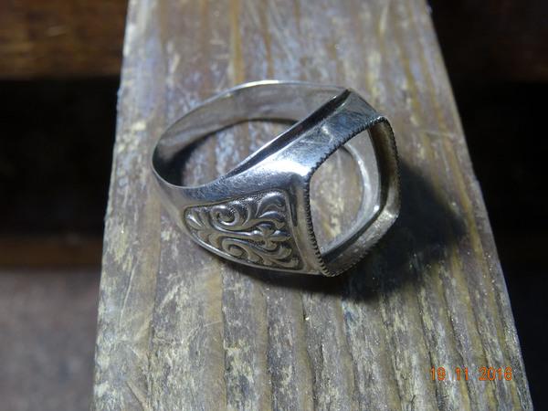 Потерян камень? не беда... Ювелирное дело, Ремонт, Перстень, Гравировка, Своими руками, Длиннопост