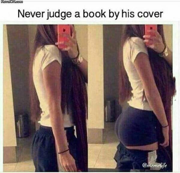 Не суди книгу по обложке Девушки, Попа, Не мое